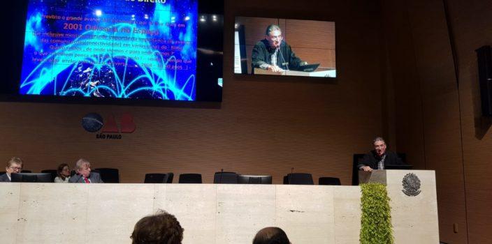 Palestra do CEO, Eduardo Gaspar, no 7. Circuito Digital da OAB São Paulo, em 20/09/18
